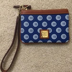 Dooney and Bourke CUBS Wristlet